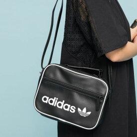 【公式】アディダス adidas VINT MINI AIRL BAG オリジナルス レディース メンズ アクセサリー バッグ ショルダーバッグ 黒 ブラック DH1004