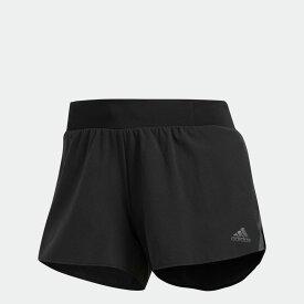 【公式】アディダス adidas ランニング Snova サタデーショーツ レディース ウェア ボトムス ショートパンツ 黒 ブラック CY8362 ランニングウェア ショートパンツ