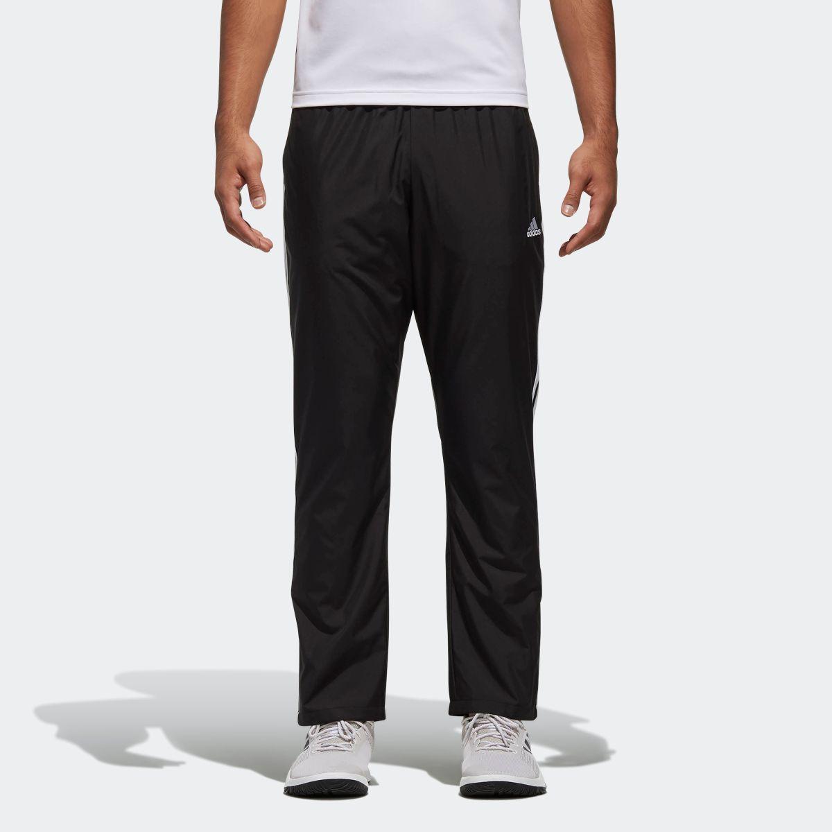 【公式】アディダス adidas M ESSENTIALS 3ストライプス ウインドパンツ (裏起毛) メンズ DN1355 ジム・トレーニング ウェア ポリエステル タフタ