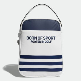 【公式】アディダス adidas ゴルフ スリーストライプシューズケース 【ゴルフ】 レディース メンズ アクセサリー バッグ ゴルフバッグ 白 ホワイト M72120