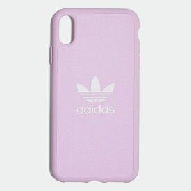 【公式】アディダス adidas iPhone Xs Max 6.5インチ用 キャンバスケース / Canvas Molded Case iPhone Xs Max 6.5-Inch オリジナルス レディース メンズ アクセサリー iPhoneケース ピンク CL2367