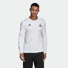 全品ポイント20倍 09/15 17:00〜09/20 16:59 【公式】アディダス adidas TANGO STREET ロングスリーブ グラフィックT シャツ メンズ サッカー ウェア トップス Tシャツ DP2688