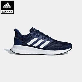 【公式】アディダス adidas ランニング FALCONRUN M メンズ シューズ スポーツシューズ 青 ブルー F36201 ランニングシューズ