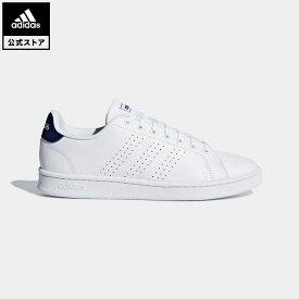 【公式】アディダス adidas 返品可 テニス ADVANCOURT LEA M レディース メンズ シューズ・靴 スニーカー 白 ホワイト F36423 whitesneaker テニスシューズ ローカット