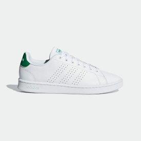 【公式】アディダス adidas テニス ADVANCOURT LEA M レディース メンズ シューズ スポーツシューズ 白 ホワイト F36424 テニスシューズ スパイクレス