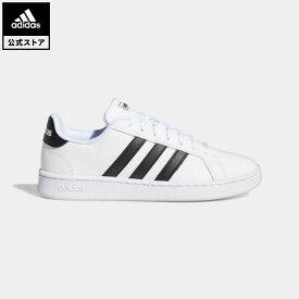 【公式】アディダス adidas 返品可 テニス GRANDCOURT LEA W レディース シューズ・靴 スニーカー 白 ホワイト F36483 whitesneaker テニスシューズ ローカット