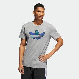 【公式】アディダス adidas SHMOO FILL Tシャツ メンズ オリジナルス スケートボーディング ウェア トップス Tシャツ DU8363