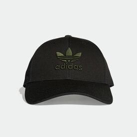 【公式】アディダス adidas トレフォイルベースボールクラシックキャップ レディース メンズ オリジナルス アクセサリー 帽子 キャップ DV0171