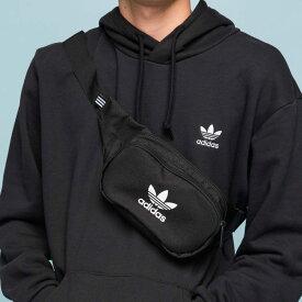 【公式】アディダス adidas ESSENTIAL CROSS BODY オリジナルス レディース メンズ アクセサリー バッグ ウエストバッグ 黒 ブラック DV2400 ウエストポーチ ボディバッグ