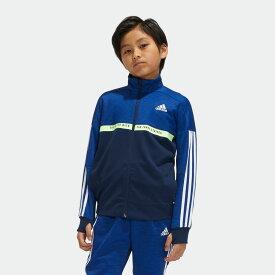 【公式】アディダス adidas ジャージ ジャケット キッズ ボーイズ ウェア アウター ジャケット