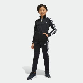 全品送料無料! 12/04 17:00〜12/11 16:59 【公式】アディダス adidas TIROジャージ上下セット (裾ジッパー) キッズ ボーイズ ジム・トレーニング ウェア セットアップ ジャージ DV1738