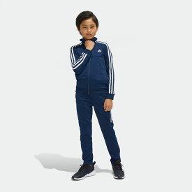 【公式】アディダス adidas TIROジャージ上下セット (裾ジッパー) キッズ ボーイズ ジム・トレーニング ウェア セットアップ ジャージ DX2469