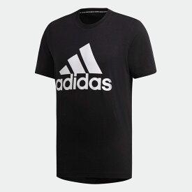 【公式】アディダス adidas M MUSTHAVES BADGE OF SPORTS Tシャツ アスレティクス メンズ ウェア トップス Tシャツ 黒 ブラック DT9933 半袖 p1030