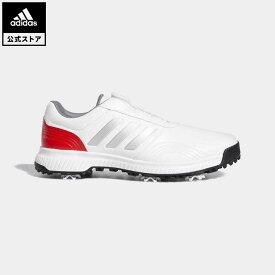 【公式】アディダス adidas ゴルフ トラクション ボア 【ゴルフ】 メンズ シューズ スポーツシューズ シルバー BB7907