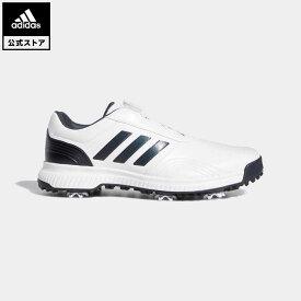【公式】アディダス adidas ゴルフ トラクション ボア 【ゴルフ】 メンズ シューズ スポーツシューズ 青 ブルー BB7908