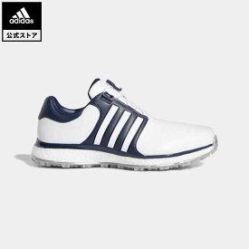 【公式】アディダス adidas ゴルフ ツアー360 XT スパイクレス ボア メンズ シューズ スポーツシューズ 青 ブルー F34189