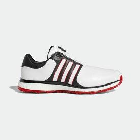 【公式】アディダス adidas ゴルフ ツアー360 XT スパイクレス ボア 【ゴルフ】 メンズ シューズ スポーツシューズ 赤 レッド F34190 スパイクレス