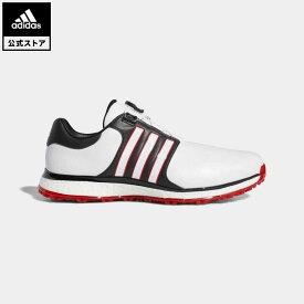 【公式】アディダス adidas ゴルフ ツアー360 XT スパイクレス ボア メンズ シューズ スポーツシューズ 赤 レッド F34190 start_something_new