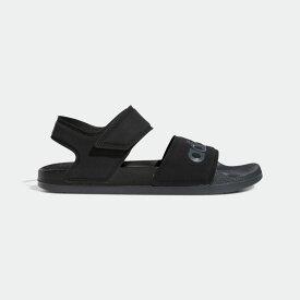 【公式】アディダス adidas 水泳 ADILETTE SANDAL レディース メンズ シューズ サンダル 黒 ブラック F35417 p0122