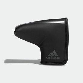 【公式】アディダス adidas ゴルフ マットPU パターカバー BL 【ゴルフ】 メンズ アクセサリー ゴルフクラブ ヘッドカバー 黒 ブラック CL0594