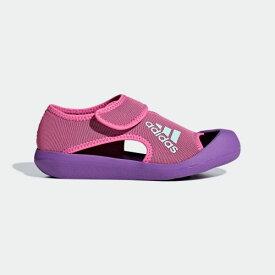 【公式】アディダス adidas 水泳 アルタベンチャー C レディース メンズ シューズ サンダル ピンク D97899