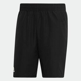 【公式】アディダス adidas テニス クラブ ショーツ 9インチ [Club Shorts 9-Inch] メンズ ウェア ボトムス ショートパンツ 黒 ブラック DU0877 p0122