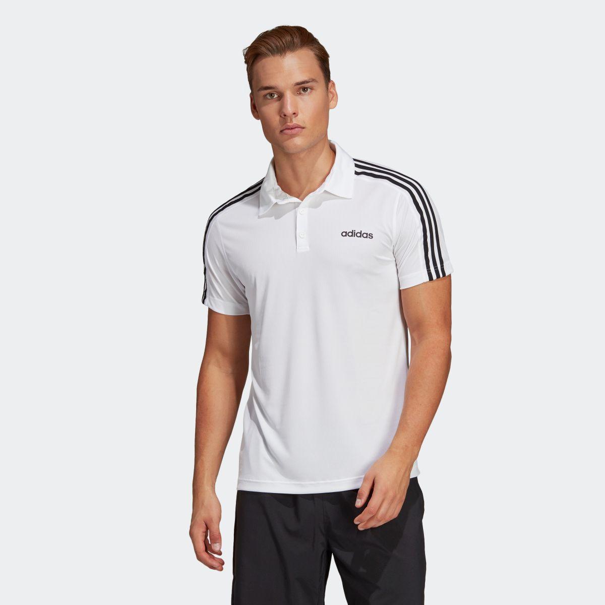 【公式】アディダス adidas M CORE 3ストライプスポロシャツ メンズ DU1258 ジム・トレーニング ウェア トップス