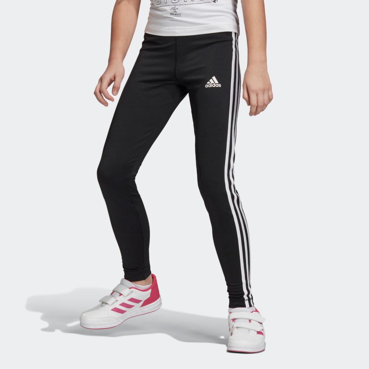 全品送料無料! 3/20 17:00〜3/26 16:59 【公式】アディダス adidas G TRN スリーストライプス タイツ キッズ DV2755 ジム・トレーニング ウェア ボトムス 【bs_girls】