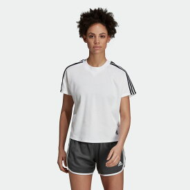 【公式】アディダス adidas W ID ダブルニットTシャツ レディース アスレティクス ウェア トップス Tシャツ DY8508 p1017