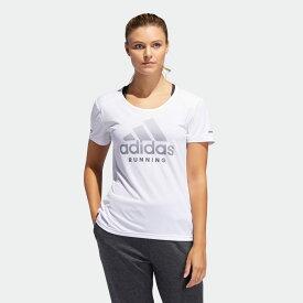全品ポイント20倍 09/15 17:00〜09/20 16:59 【公式】アディダス adidas RUN logo 半袖TシャツW レディース ランニング ウェア トップス Tシャツ EC5381