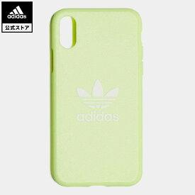 【公式】アディダス adidas 返品可 X/XS iphonecase オリジナルス レディース メンズ アクセサリー iPhoneケース(スマホケース) イエロー CL4891