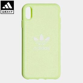 【公式】アディダス adidas 返品可 XS Max iphonecase オリジナルス レディース メンズ アクセサリー iPhoneケース(スマホケース) イエロー CL4895