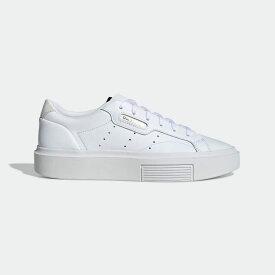 【公式】アディダス adidas アディダス スリーク スーパー [adidas Sleek Super Shoes] オリジナルス レディース シューズ スニーカー 白 ホワイト EF8858 ローカット