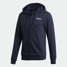 【公式】アディダス adidas エッセンシャルズ プレーン パーカー / Essentials Plain Hoodie メンズ ウェア トップス パーカー ジャージ 青 ブルー DU0386 トレーナー