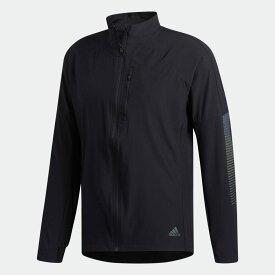 【公式】アディダス adidas ランニング ライズアップ N ラン ジャケット / Rise Up N Run Jacket メンズ ウェア アウター ジャケット 黒 ブラック DZ1575 ランニングウェア