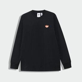 【公式】アディダス adidas トレフォイルWAPPEN 長袖Tシャツ メンズ オリジナルス ウェア トップス Tシャツ FK9988 p0802