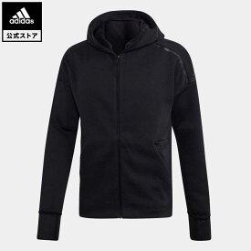 【公式】アディダス adidas 返品可 M adidas Z.N.E.フーディー ファストリリース アスレティクス メンズ ウェア・服 トップス パーカー(フーディー) ジャージ 黒 ブラック EB5230 トレーナー
