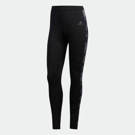 【公式】アディダス adidas ランニング Own the Run アーバン カモ タイツ [Own the Run Urban Camo Tights] メンズ ウェア ボトムス タイツ 黒 ブラック EC5549 ランニングウェア レギンス スポーツウェア