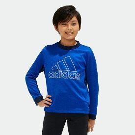 【公式】アディダス adidas B TRN CLIMAWARM スウェットクルーネック (裏起毛) キッズ ボーイズ ジム・トレーニング ウェア トップス スウェット EC9264 p0120