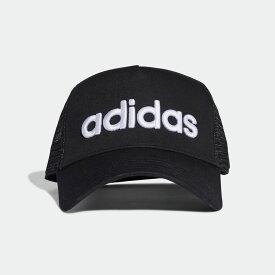 【公式】アディダス adidas リニアキャップ [H90 Linear Cap] レディース メンズ アクセサリー 帽子 キャップ 黒 ブラック ED0316