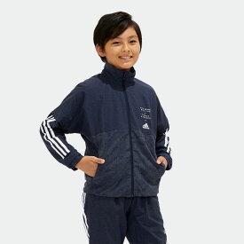 【公式】アディダス adidas B adidasDAYS ウインドブレーカー ジャケット (裏起毛) キッズ ボーイズ ジム・トレーニング ウェア アウター ジャケット point_adidasday