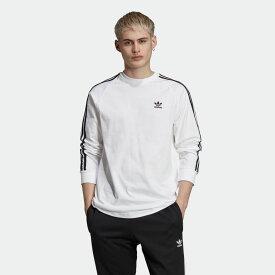 【公式】アディダス adidas 3ストライプ 長袖Tシャツ メンズ オリジナルス ウェア トップス Tシャツ ED5959