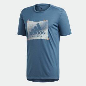 【公式】アディダス adidas グラフィックTシャツ [Own the Run Badge of Sport Graphic Tee] メンズ ランニング ウェア トップス Tシャツ ED6152 ランニングウェア