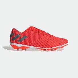 【公式】アディダス adidas サッカー ネメシス 19.2-ジャパン HG/AG / 硬い土用 / 人工芝用 メンズ シューズ スパイク 赤 レッド EF8753 サッカースパイク