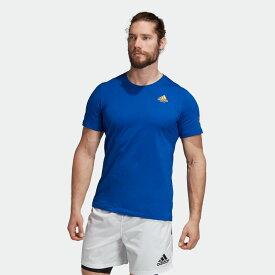 【公式】アディダス adidas アルゼンチン ICON T メンズ ラグビー ウェア トップス Tシャツ EI6287