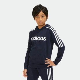 【公式】アディダス adidas B CORE 3S スウェットフーディー (裏起毛) キッズ ボーイズ ウェア トップス パーカー p0120