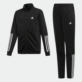 【公式】アディダス adidas ジム・トレーニング YB Training TS キッズ ウェア セットアップ ジャージ 黒 ブラック ED6224 上下