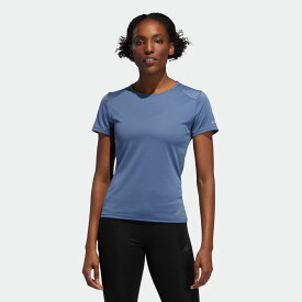 【公式】アディダス adidas RUN 半袖TシャツW レディース ランニング ウェア トップス Tシャツ EI6501