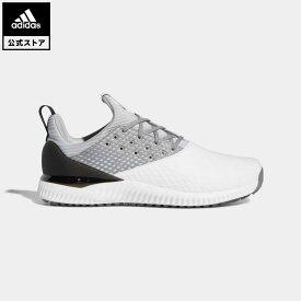 【公式】アディダス adidas ゴルフ アディクロス バウンス 2【ゴルフ】 / ADICROSS Bounce 2.0 Shoes メンズ シューズ スポーツシューズ 白 ホワイト F35409