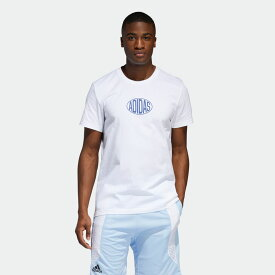 【公式】アディダス adidas Q3 SHOP TEE 1 メンズ バスケットボール ウェア トップス Tシャツ DX6904
